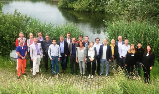 Photo from the kick-off meeting of the BBI project UNRAVEL
